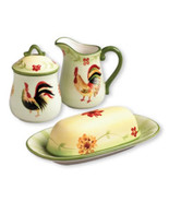 Pfaltzgraff  Daybreak  Butter Sugar Bowl and Creamer Set  - $50.00