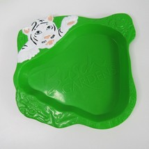 Busch Gardens White Tiger Plastic Plate PBA Free 2010 Whirley Drinks Lot 7 - $18.49