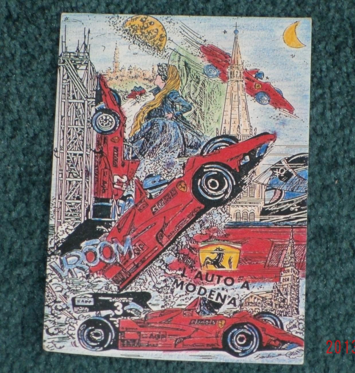 Lala   3 g postcards 119