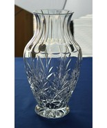 "Cristal d'Arques Crystal Vase Pineapple Pattern 9 1/8"" tall - $24.75"