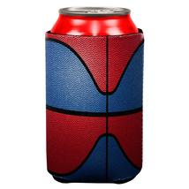 Championship Basketball Royal Blue & Red All Over Can Cooler - $7.95