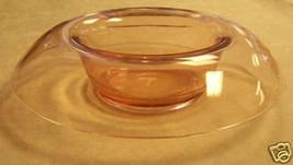 ELEGANT PINK DEPRESSION GLASS CONSOLE BOWL - $10.88