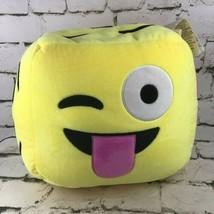 Iscream Emoji Plush Six-Sided Block Different Faces Stuffed Bedroom Decor Pillow - $29.69