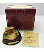 WDCC Disney Enchanted Places Fiddler Pig's Stick House Three Little Pigs... - $37.49
