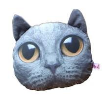 PANDA SUPERSTORE Cute Cartoon (Lovely Cat) Car Headrest/Car Neck Pillow,Blue