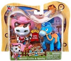 Disney Junior Sheriff Callie's Wild West, Sheriff Callie and Sparky Figu... - $30.00
