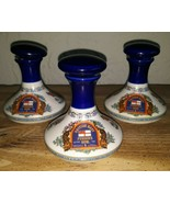 WADE Lot 3 PUSSER'S RUM BRITISH NAVY 6 oz Small PORCELAIN DECANTERS - $59.39