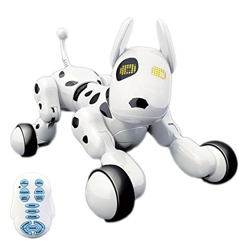 Hi-Tech Wireless Interactive Robot Puppy, Robot Dog, Remote Control Dogs for Boy