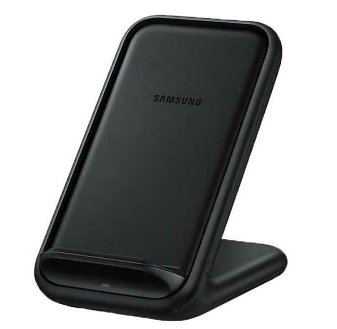 Samsung Wireless Charger Stand - Black - EP-N5200 iPhone Fast Charge 2.0 15W Qi