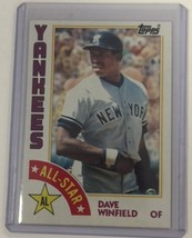1984 Topps #402 DAVE WINFIELD All-Star NY Yankees HOF C - $1.97