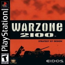Warzone 2100 PS1 Great Condition Complete Fast Shipping - $17.94