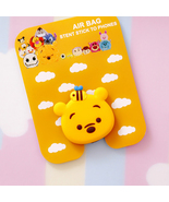Teddy bear-Cartoon Silicone Universal Pop Up Phone Tablet Hold Expanding... - $9.79