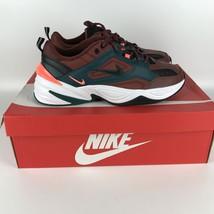 Nike M2k Tekno Running Shoes 13 Pueblo Brown/Rainforest AV4789 200 - $68.19