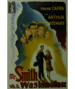 Mr Smith Goes to Washington (French) - James Stewart - Movie Poster - Framed Pic - £24.90 GBP