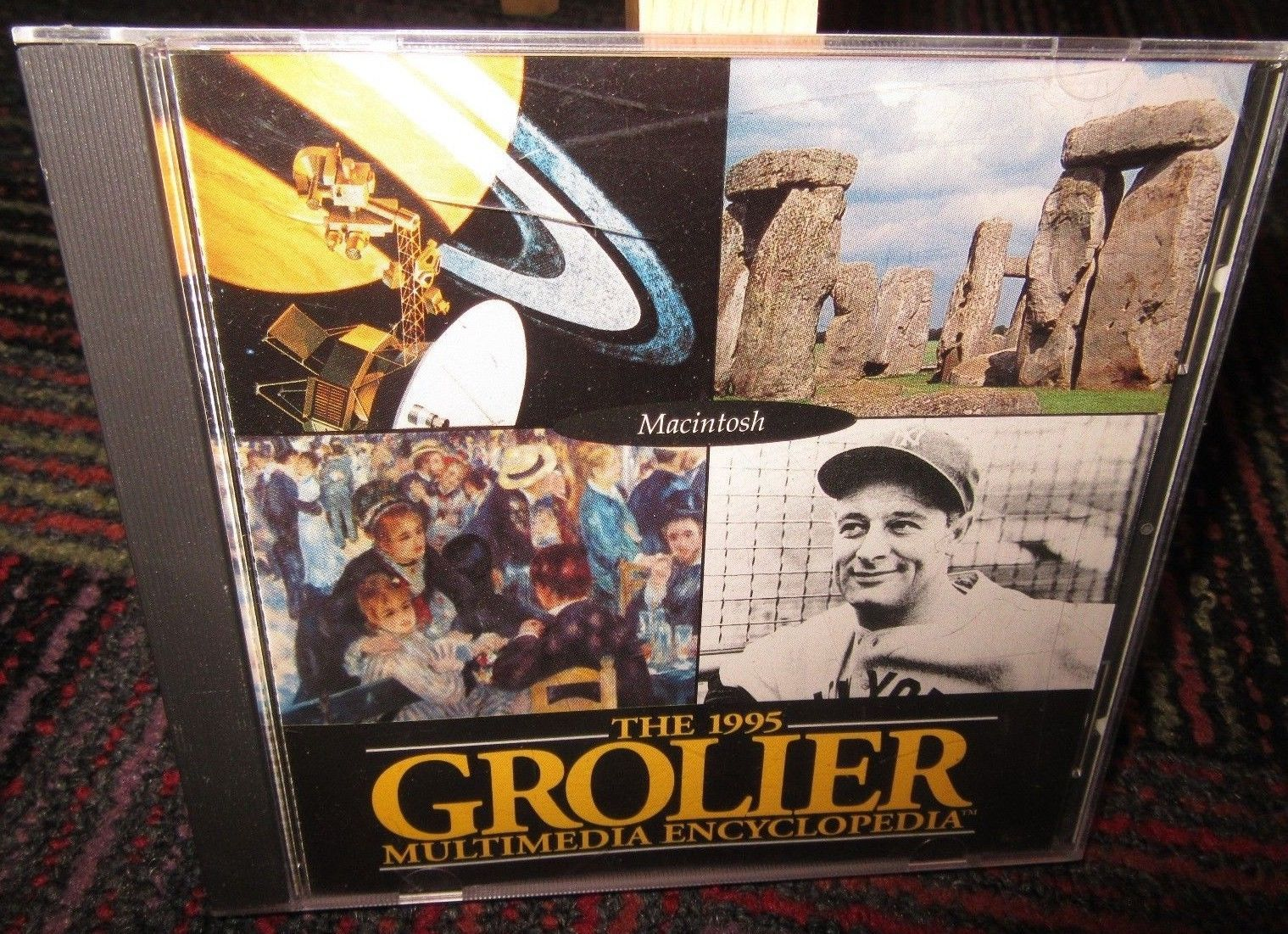 The 1995 Grolier Multimedia Encyclopedia Pc And 50 Similar Items