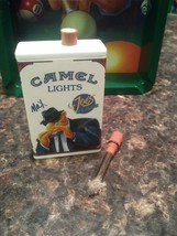 """Lighter Camel Joe's Place """"MAX"""" (1994) metal-match refillable collectable - $12.71"""