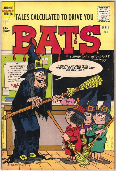 Primary image for Tales Calculated To Drive You Bats Comic Book #2, Archie 1962 FINE-