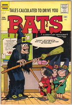 Tales Calculated To Drive You Bats Comic Book #2, Archie 1962 FINE- - $22.17