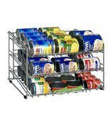 Soup Can Rack Chrome Organize It All Pantry Cabinet Kitchen Storage Food... - $35.00