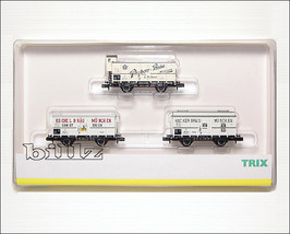 TRIX MINITRIX N 15039 Bavarian K.Bay.Sts.B Beer Cars LE 2002 - $219.50