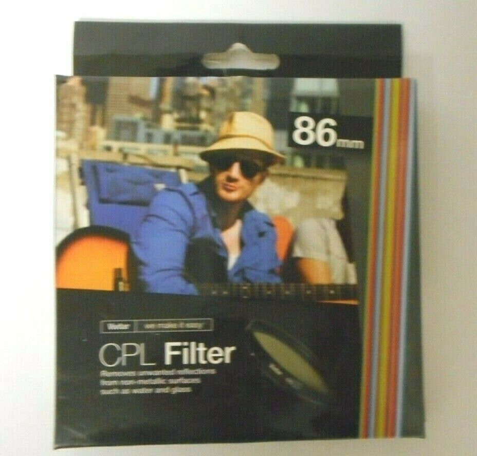 Primary image for Vivitar CPL Circular Polarizer Glass Filter 86mm