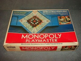 Monopoly Playmaster Electronic Accessory for Faster Paced Games [w/ box] 1982 - $8.00