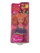 """Vintage 1974 Tiny Penelope Fashion Doll Mod Groovy Uneeda Made In Hong Kong 6"""" - $23.23"""