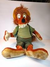 "Brer Fox Vintage Disney Plush Song Of The South Splash Mountain 24"" Disneyland - $69.30"