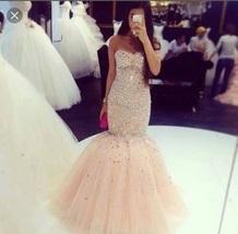 Uo18bn l 610x610 dress nude pink puffy prom dress thumb200