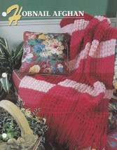Hobnail Afghan, Annie's Crochet Quilt & Afghan Pattern Club Leaflet 316-... - $2.95