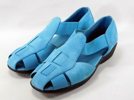 Blue Suede Easy Spirit Comfort Shoes Sw-cute Size 8.5 M - $27.57 CAD