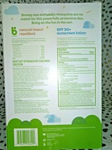 Babyganics 5oz Repellant and 2oz Sunscreen Duo -EXP 01/2022  SEALED NEW -STORE - image 2