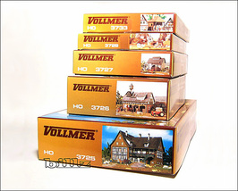 VOLLMER HO SET 3737 - Complete Farm Layout - 5 ... - $236.50