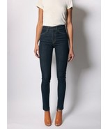 24 - IMOGENE + WILLIE Dark Wash High Rise $195 Imogene Slim Cute Jeans 1... - $95.00