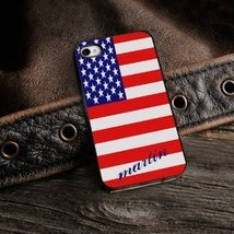 Show Your Colors - Patriotic iPhone Cover with Black Trim - $22.69