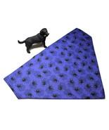 Halloween bandanas for dogs, Reversible 0ver the collar purple spider ba... - $6.50+