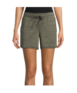 St. John's Bay Hutchinson Green Active Knit Pull-On Shorts New Size L, XL - $12.99