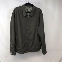 Brown / Dark Beige Gap Size L Jacket RN 54023 Mens Zipper Coat Rain Jacket - $29.60