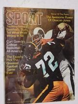 SPORT MAGAZINE JAN 1969 DEACON JONES & FRAN O'BRIEN  COVER  GREAT  PICTURES - $1.00