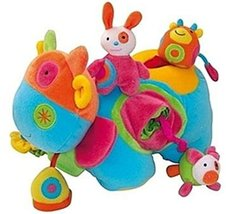 """Activity Cow Baby Attachment Doll, 7.4"""" x 11"""" , for Toddler Development Toy"""