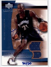 2004-05 Ultimate Collection Buy Back Signatures Kevin Garnett 03 Sweet Spot #20 - $399.97