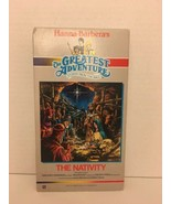 Greatest Adventure Stories From the Bible The Nativity VHS Hanna Barbera - $5.93