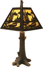 "River's Edge 24""H Rustic Tree Lamp Cabin Country Lodge Rustic Decor - $99.99"