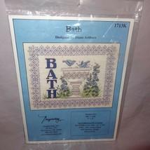 Bath Bird Cross Stitch Kit Diane Arthurs Imaginating Blue Flowers 1713K ... - $17.89