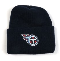 Tennessee Titans Hat Cuffed Beanie Adult Men's Knit Blue NFL Football NEW - $13.57