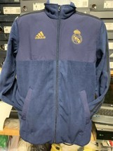 Adidas Real Madrid Flecce Jacket Navy Gold 19/20 Limited Edition  Mans X... - $97.02