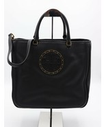 New Tory Burch Stud Black Leather Convertible Tote Bag New 36086 - $374.54