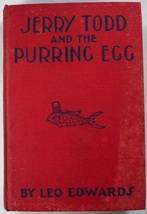 Jerry Todd and the Purring Egg #6 Leo Edwards author of Poppy Ott Andy B... - $4.50