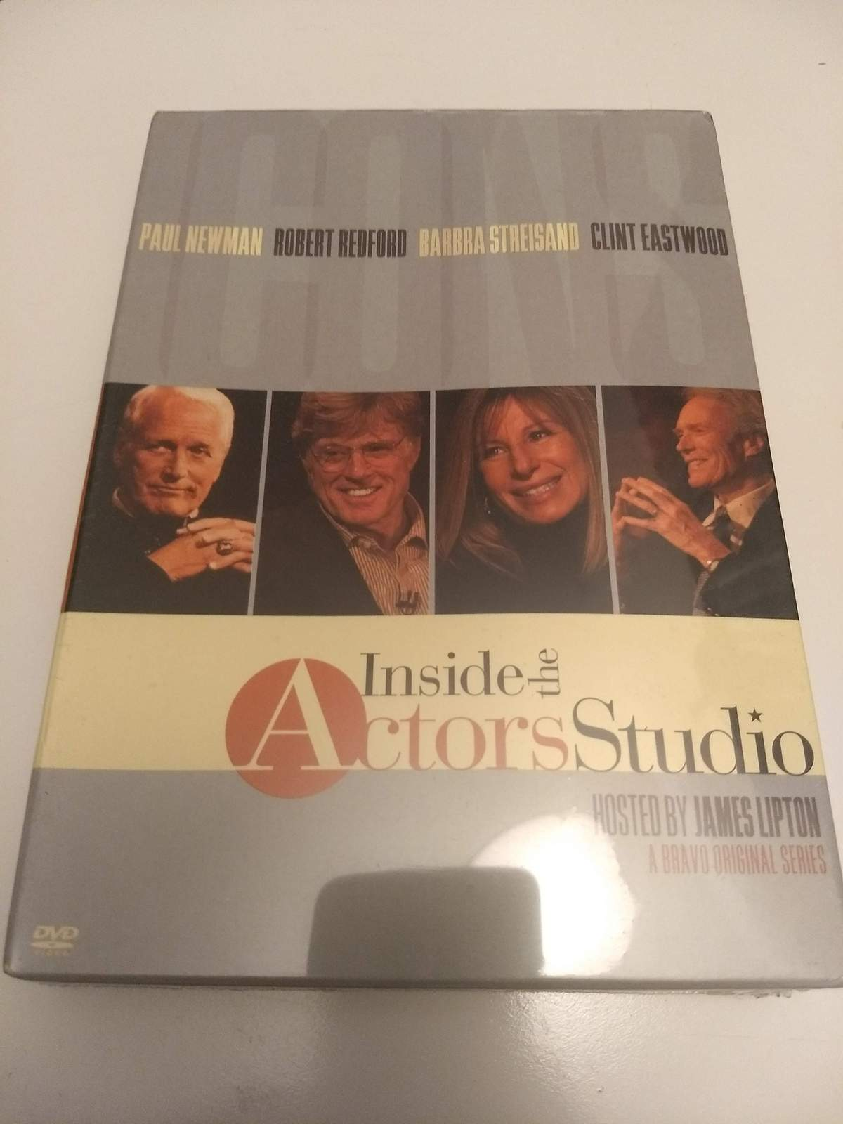 "Inside the Actors Studio ""Icons"" 3 Disc Set"