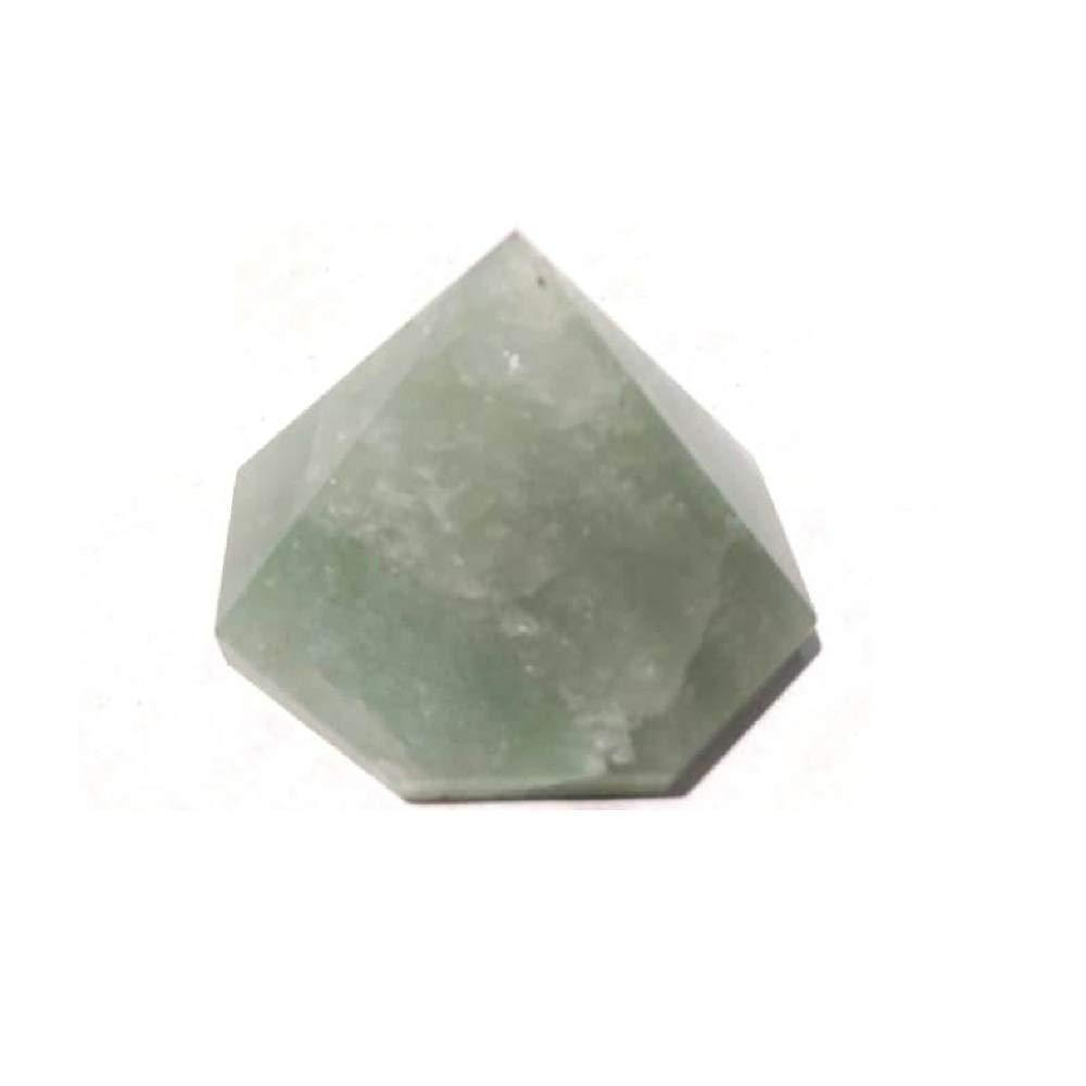 Primary image for Natural Green Avanturine Chakra Healing Power Point Octagonal Pyramid 40 to 50 m
